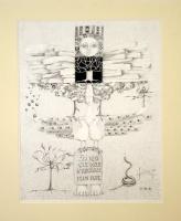 609 – « totem aux oiseaux – j'ai rêvé … »